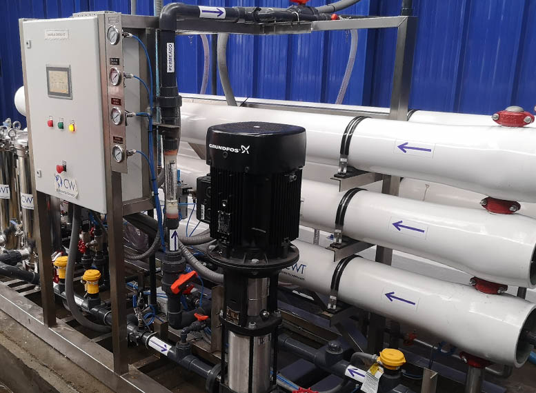 CWT Reverse Osmosis Industrial-Water Treatment Solutions 5