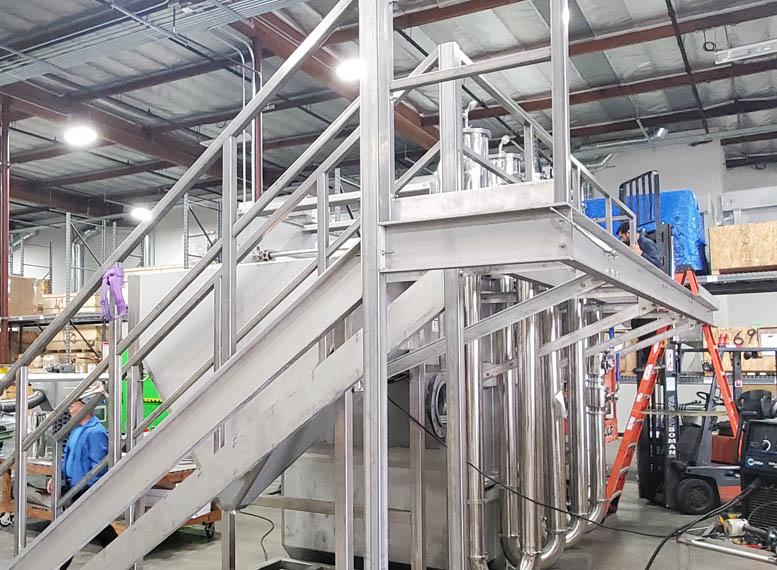 CWT Water Treatment Catwalks Platforms 1