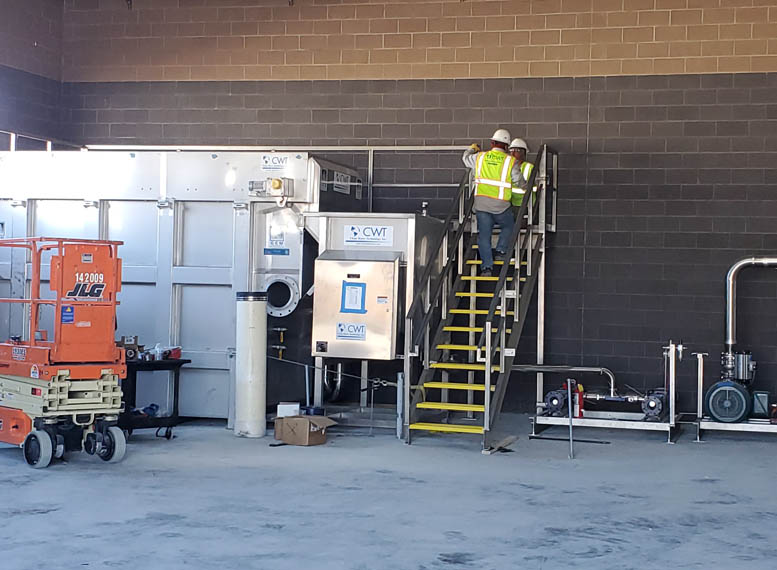 CWT Water Wastewater System Build