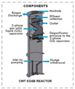 Expanded Granular Sludge Blanket Reactor Design