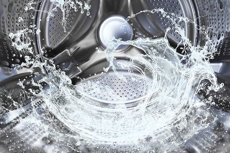 Industrial Laundry Reuses Wastewater