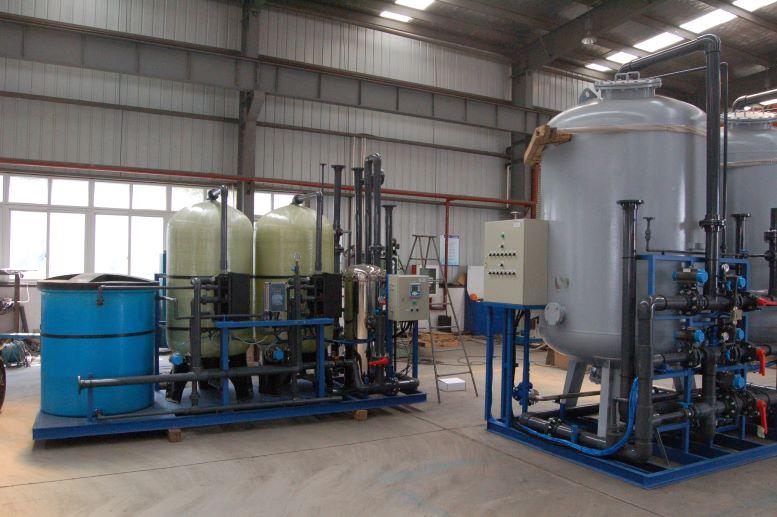 Filtration system Tanks